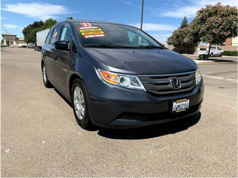 2011 Honda Odyssey for sale at D & I Auto Sales in Modesto CA