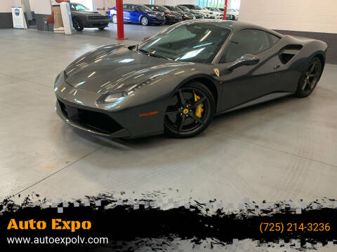 2016 Ferrari 488 GTB for sale at Auto Expo in Las Vegas NV