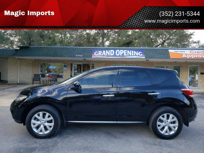 2012 Nissan Murano for sale at Magic Imports in Melrose FL