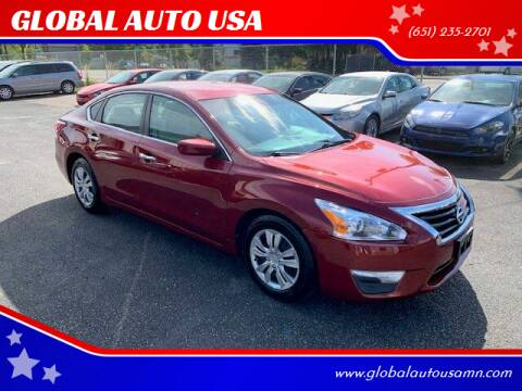 2013 Nissan Altima for sale at GLOBAL AUTO USA in Saint Paul MN