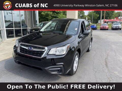 2018 Subaru Forester for sale at Summit Credit Union Auto Buying Service in Winston Salem NC
