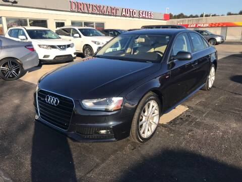 2015 Audi A4 for sale at DriveSmart Auto Sales in West Chester OH