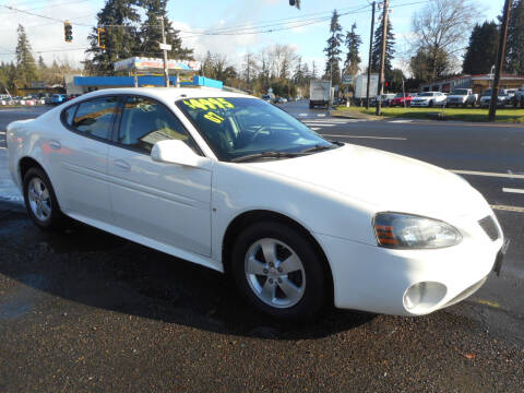 2007 Pontiac Grand Prix for sale at Lino's Autos Inc in Vancouver WA