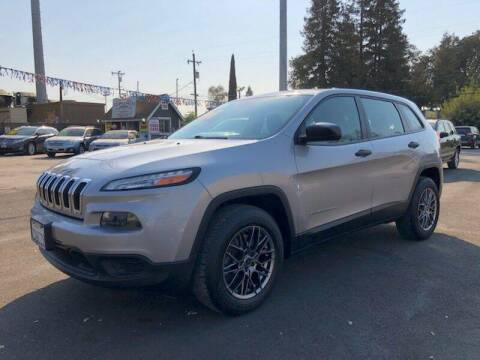 2014 Jeep Cherokee for sale at C J Auto Sales in Riverbank CA
