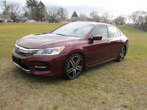 2016 Honda Accord for sale at Triangle Auto Sales in Elgin IL