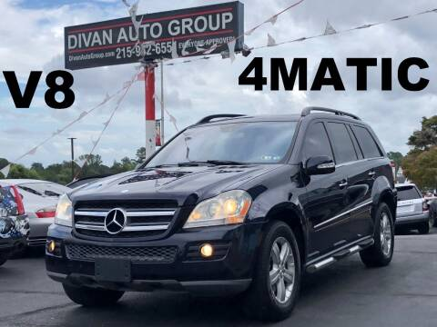 2007 Mercedes-Benz GL-Class for sale at Divan Auto Group in Feasterville Trevose PA