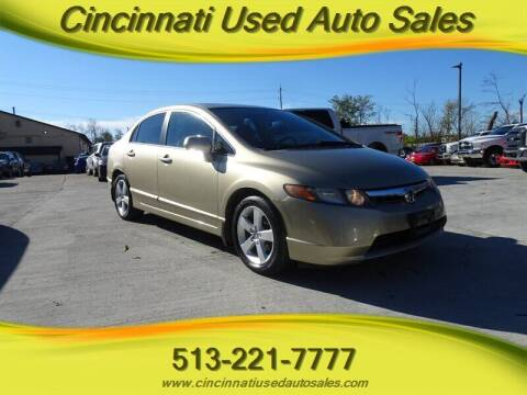 2007 Honda Civic for sale at Cincinnati Used Auto Sales in Cincinnati OH