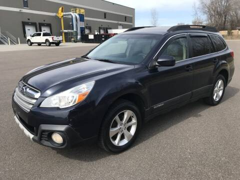 2014 Subaru Outback for sale at Angies Auto Sales LLC in Newport MN