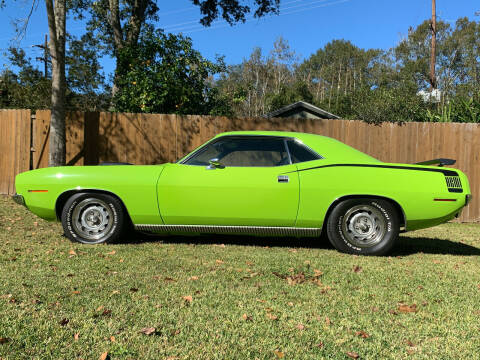 1970 Plymouth cuda for sale at Bayou Classics and Customs in Parks LA