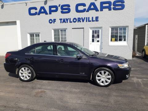 2007 Lincoln MKZ for sale at Caps Cars Of Taylorville in Taylorville IL