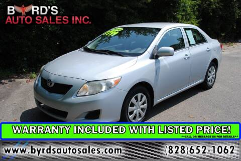 2010 Toyota Corolla for sale at Byrds Auto Sales in Marion NC