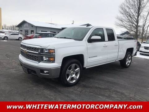 2015 Chevrolet Silverado 1500 for sale at WHITEWATER MOTOR CO in Milan IN