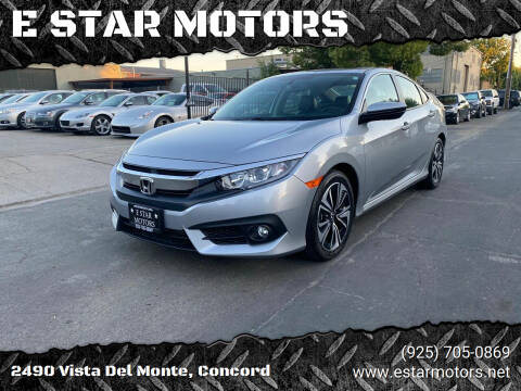2017 Honda Civic for sale at E STAR MOTORS in Concord CA