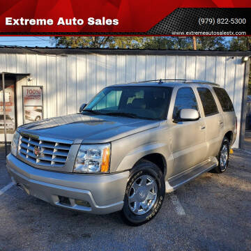 2006 Cadillac Escalade for sale at Extreme Auto Sales in Bryan TX