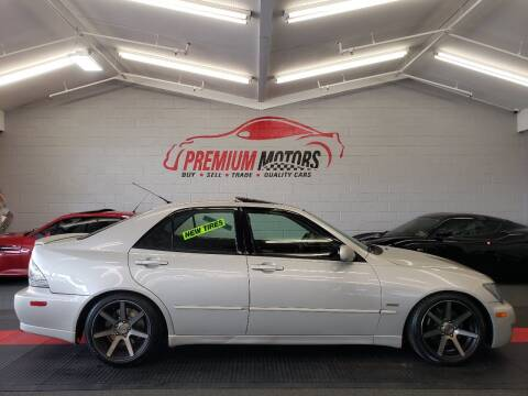 2004 Lexus IS 300 for sale at Premium Motors in Villa Park IL
