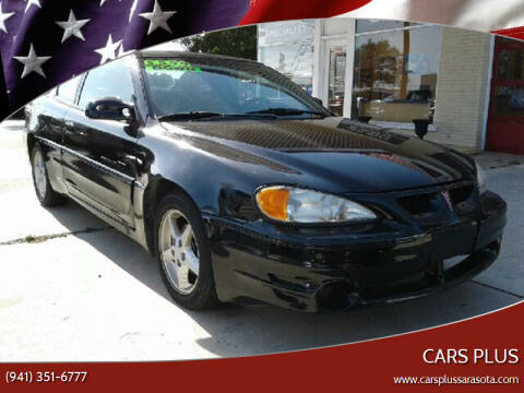 2001 Pontiac Grand Am for sale at Cars Plus in Sarasota FL