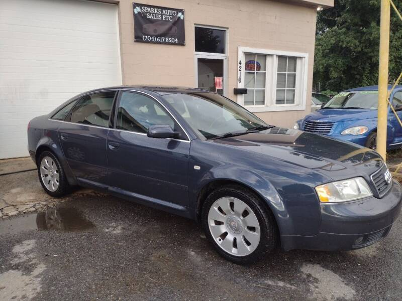 2001 Audi A6 for sale at Sparks Auto Sales Etc in Alexis NC