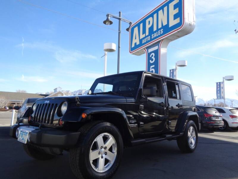2008 Jeep Wrangler Unlimited for sale at Alpine Auto Sales in Salt Lake City UT