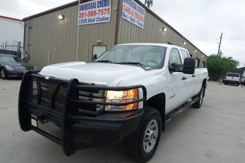2014 Chevrolet Silverado 3500HD for sale at Universal Credit in Houston TX
