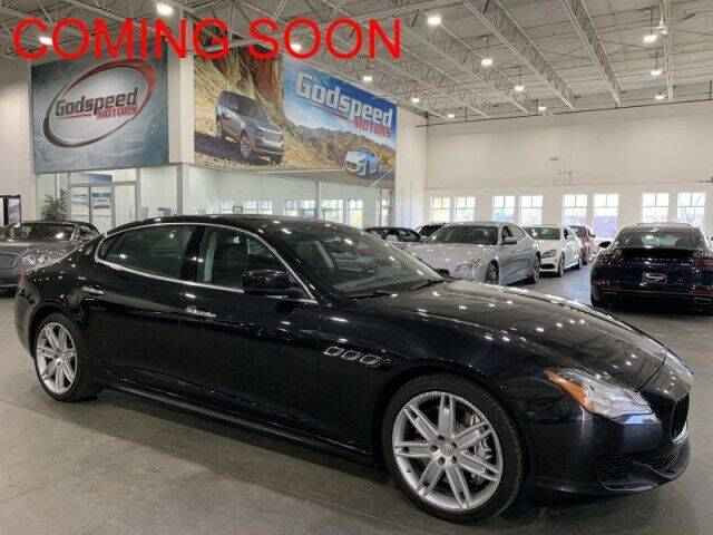 2014 Maserati Quattroporte for sale at Godspeed Motors in Charlotte NC