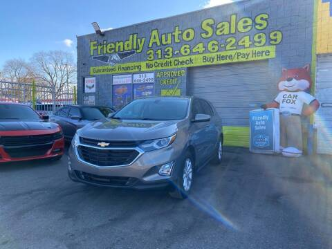 2018 Chevrolet Equinox for sale at Friendly Auto Sales in Detroit MI