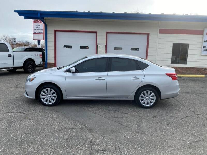 2018 Nissan Sentra for sale at Auto Outlet in Billings MT