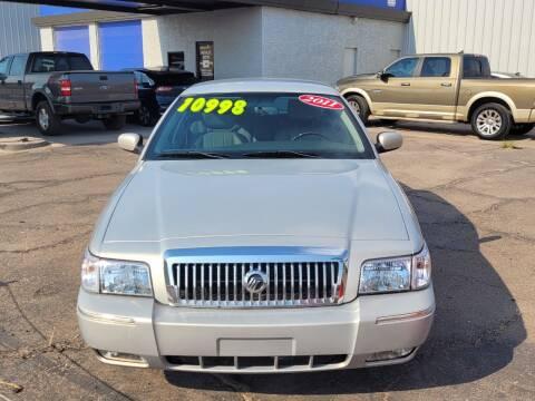 2011 Mercury Grand Marquis for sale at Dreamline Motors in Coolidge AZ
