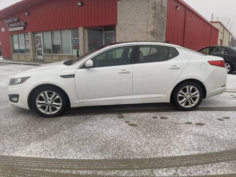 2013 Kia Optima for sale at Nationwide Auto Works in Medina OH