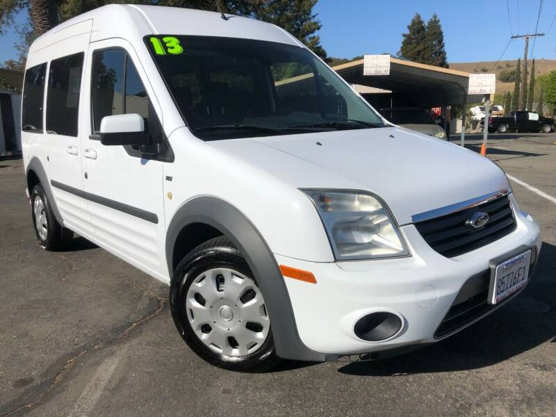2013 Ford Transit Connect for sale at Martinez Truck and Auto Sales in Martinez CA