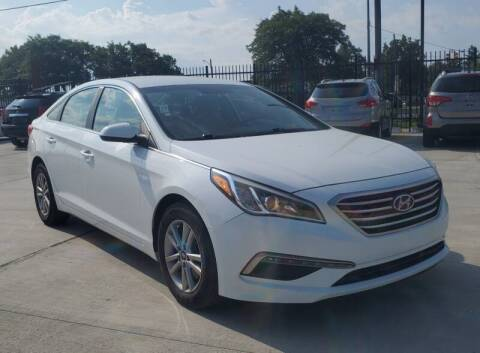 2015 Hyundai Sonata for sale at NUMBER 1 CAR COMPANY in Detroit MI