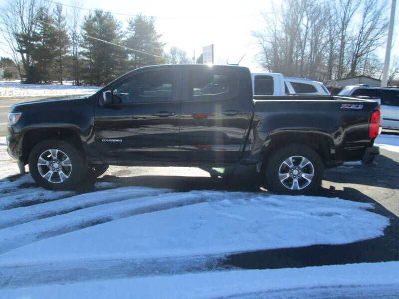 2015 Chevrolet Colorado for sale at Knauff & Sons Motor Sales in New Vienna OH