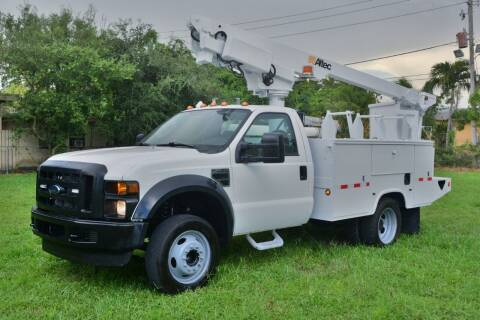 2008 Ford F-450 Super Duty for sale at American Trucks and Equipment in Hollywood FL
