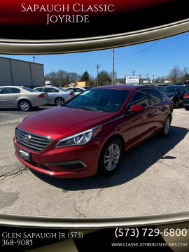 2015 Hyundai Sonata for sale at Sapaugh Classic Joyride in Salem MO