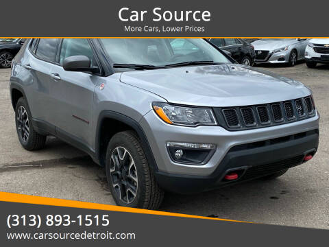 2020 Jeep Compass for sale at Car Source in Detroit MI