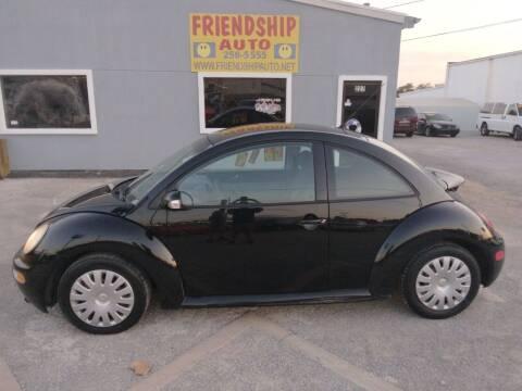 2005 Volkswagen New Beetle for sale at Friendship Auto Sales in Broken Arrow OK