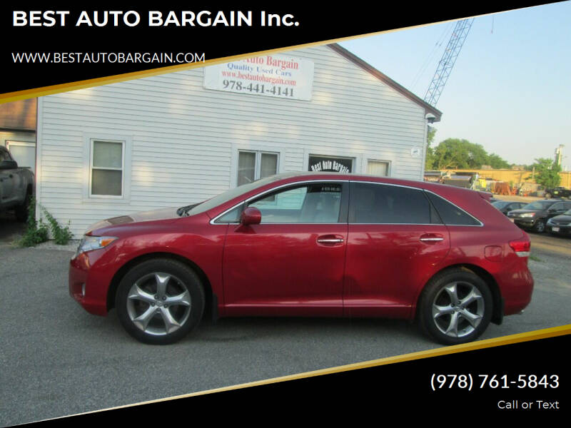 2011 Toyota Venza for sale at BEST AUTO BARGAIN inc. in Lowell MA
