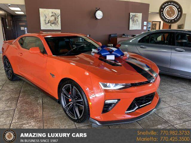 2018 Chevrolet Camaro for sale at Amazing Luxury Cars in Snellville GA