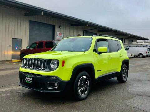 2018 Jeep Renegade for sale at DASH AUTO SALES LLC in Salem OR