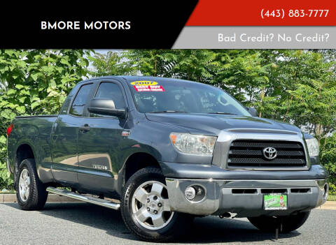 2007 Toyota Tundra for sale at Bmore Motors in Baltimore MD