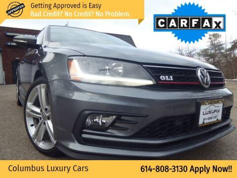 2017 Volkswagen Jetta for sale at Columbus Luxury Cars in Columbus OH
