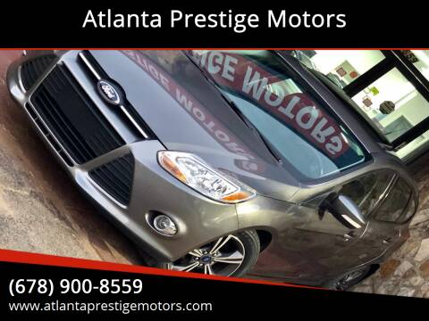 2013 Ford Focus for sale at Atlanta Prestige Motors in Decatur GA