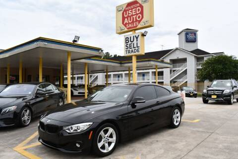 2015 BMW 4 Series for sale at Houston Used Auto Sales in Houston TX