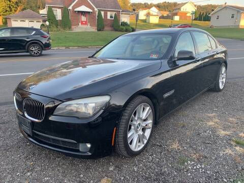 2010 BMW 7 Series for sale at Trocci's Auto Sales in West Pittsburg PA