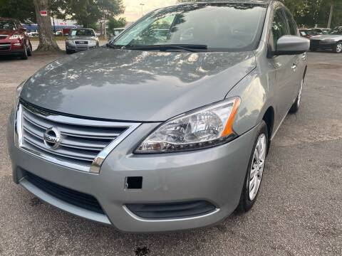 2014 Nissan Sentra for sale at Atlantic Auto Sales in Garner NC