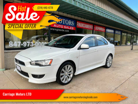 2011 Mitsubishi Lancer for sale at Carriage Motors LTD in Ingleside IL