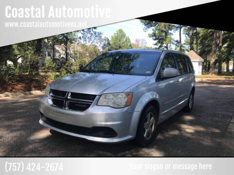 2012 Dodge Grand Caravan for sale at Coastal Automotive in Virginia Beach VA