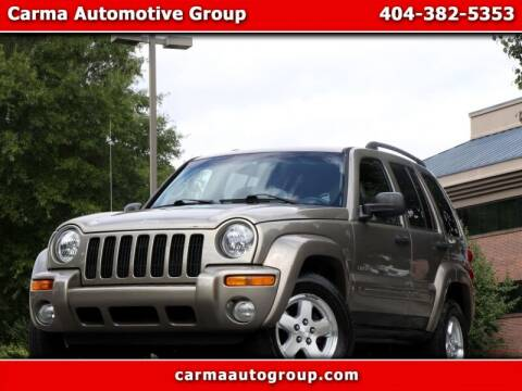 2004 Jeep Liberty for sale at Carma Auto Group in Duluth GA