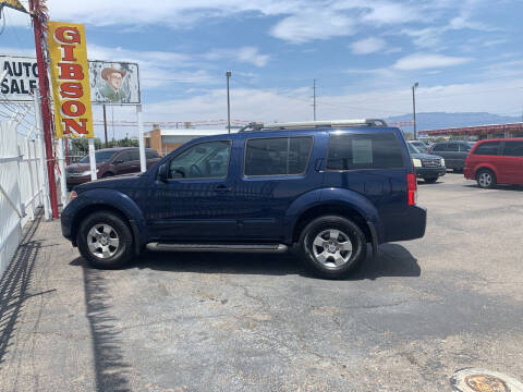 2006 Nissan Pathfinder for sale at Robert B Gibson Auto Sales INC in Albuquerque NM