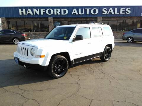2015 Jeep Patriot for sale at Hanford Auto Sales in Hanford CA