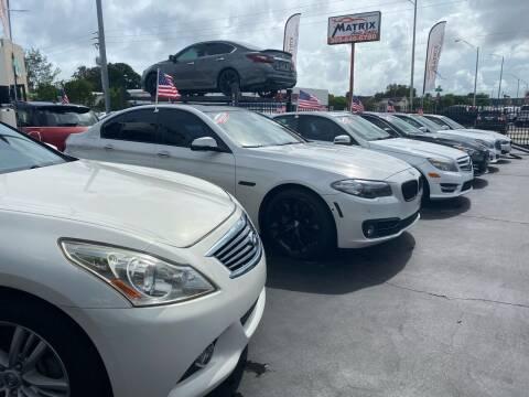 2014 BMW 3 Series for sale at MATRIX AUTO SALES INC in Miami FL